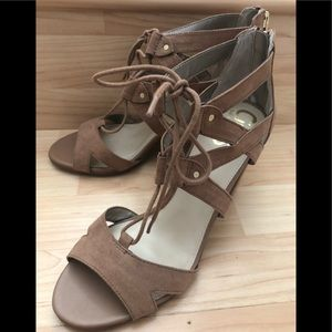 Circus brand tan colored sandals. New. Size 8.5